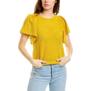 Madewell Eyelet Top Size L